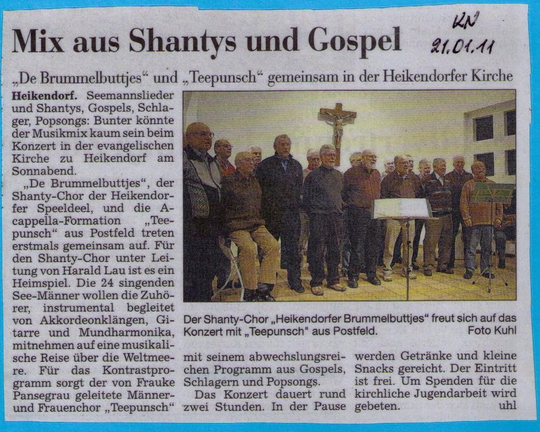 Konzert Jan. 2011